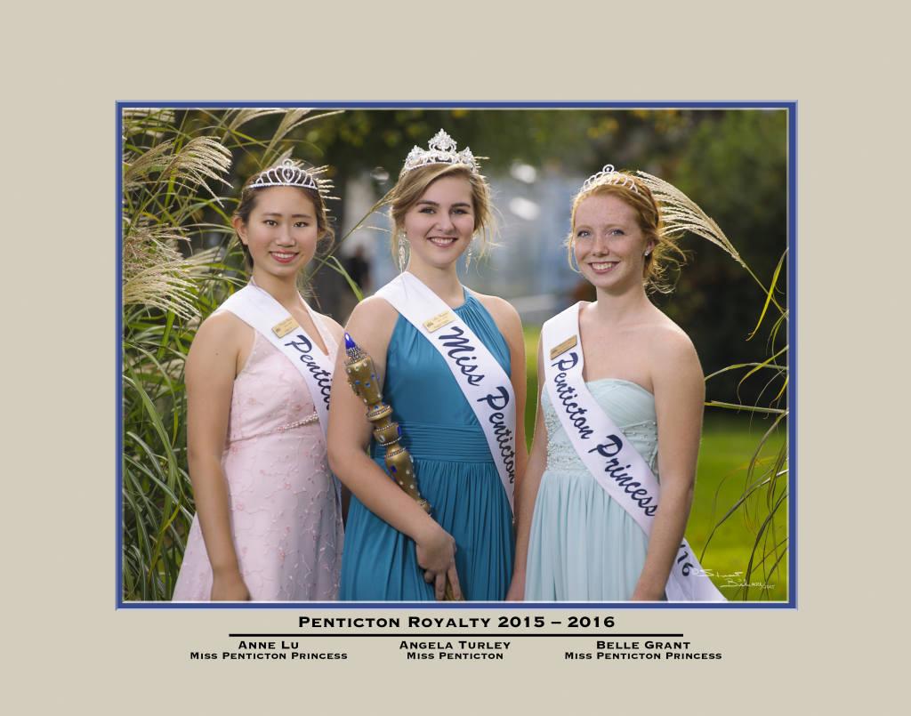 Miss Penticton Royalty 15-16