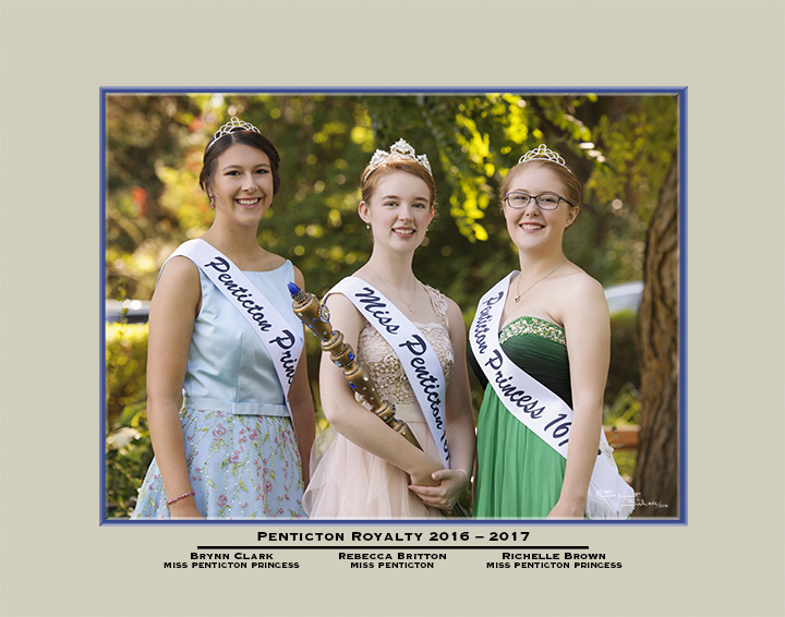 Miss Penticton Royalty 16-17
