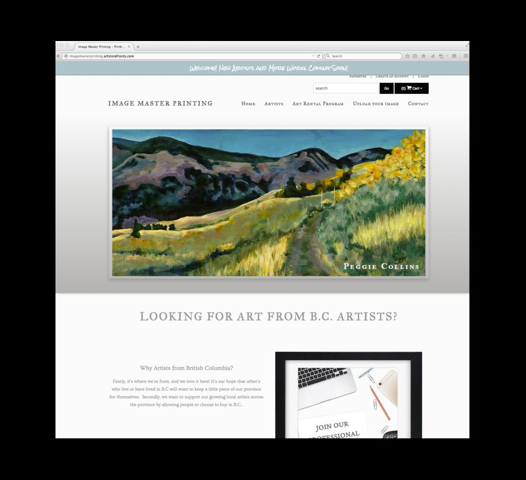 Image Master Printing; online art store